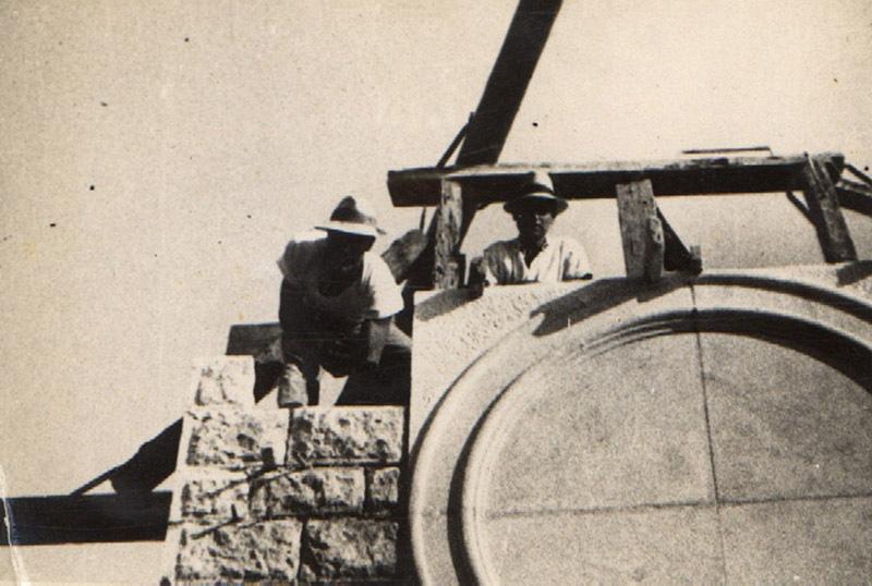 1931-Mlini-gradnja-zvonika-1