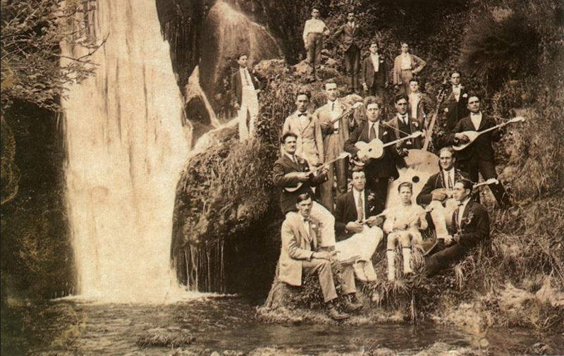 1935-Mlini-Tamburaski-orkestar-Mlina-i-Solina