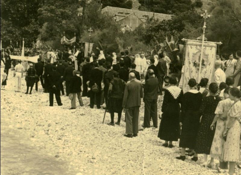 1939-Mlini-procesija-Sv.-Ilar